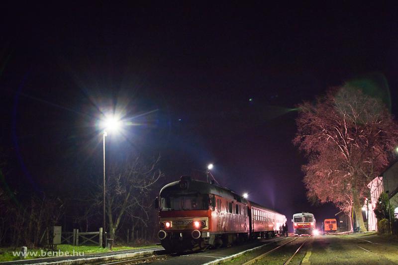 MDmot 3006 és Bzmot 420 Tiszalökön fotó