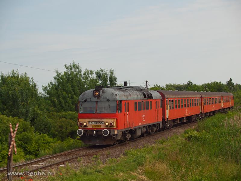 MDmot 3006 Sáránd és Derecske között fotó
