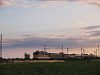 The V43 1294 pulling a fast train to S�toralja�jhely between F�zesabony and Szihalom