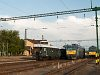 The BCmot 397, V63 035 and the BDt 335 drivng trailer at Kunszentmikl�s-Tass station