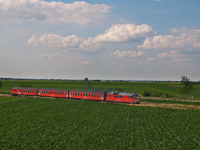 The MDmot 3006 between Konyári Sóstófürdő and Pocsaj-Esztár