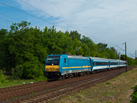 The 480 001 between Apafa and Debrecen