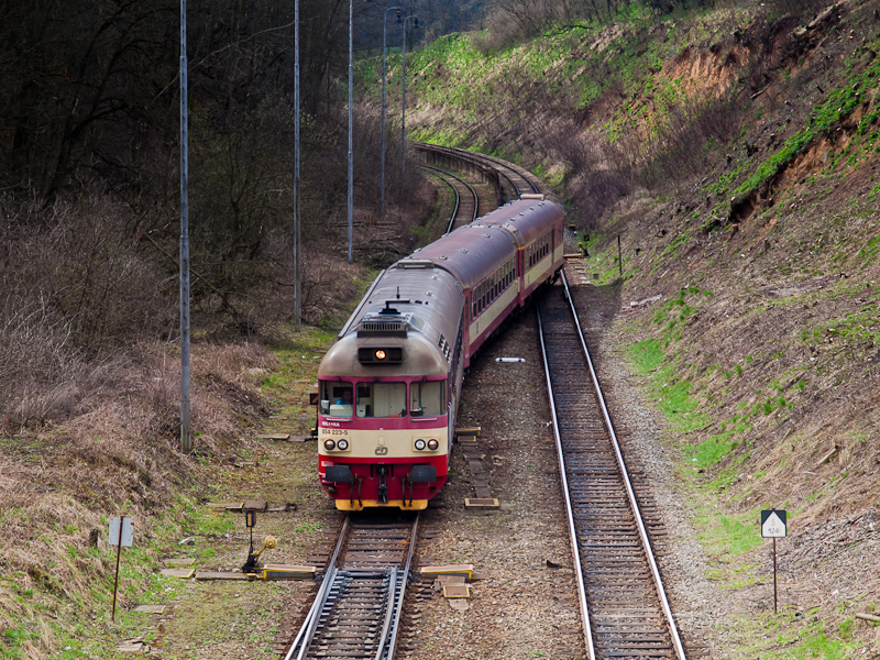 The ČD 854 223-5  Mile picture