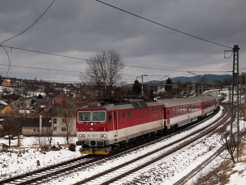 The ŽSSK 361 103-5 see picture