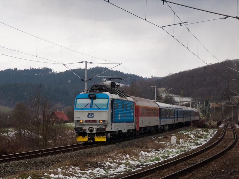 The ČD 150 226-9 seen  photo