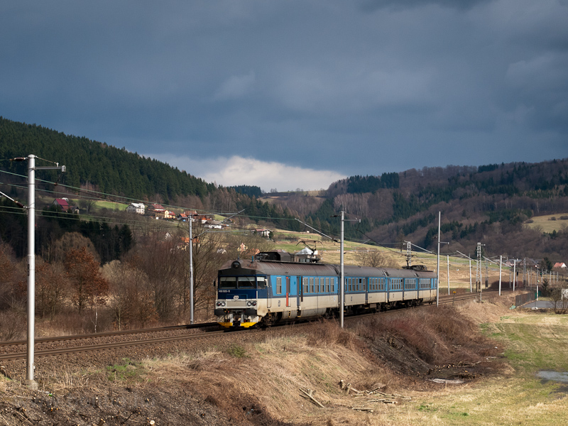 The ČD 460 025-0 seen  picture