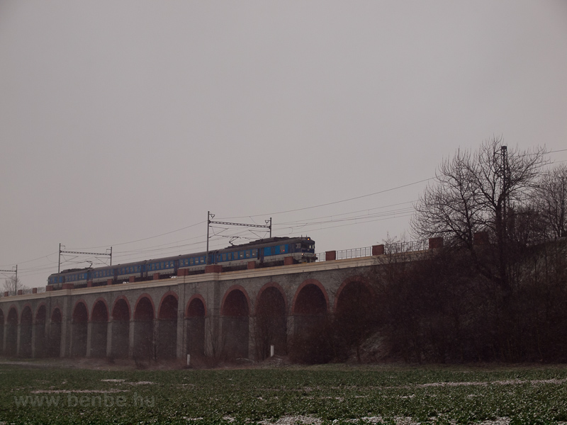 The ČD 460 076-3 seen  photo