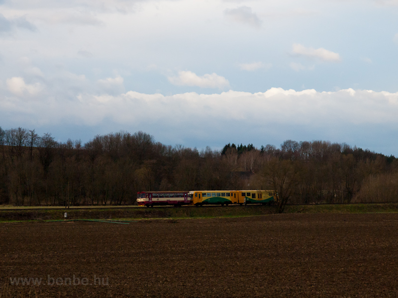 The ČD 810  628-8 seen photo