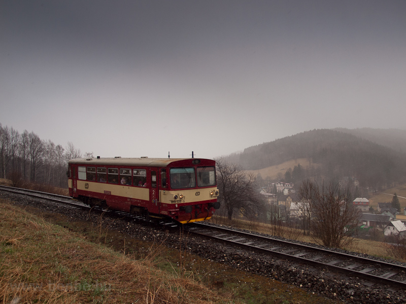The ČD 810 026-5 seen  picture