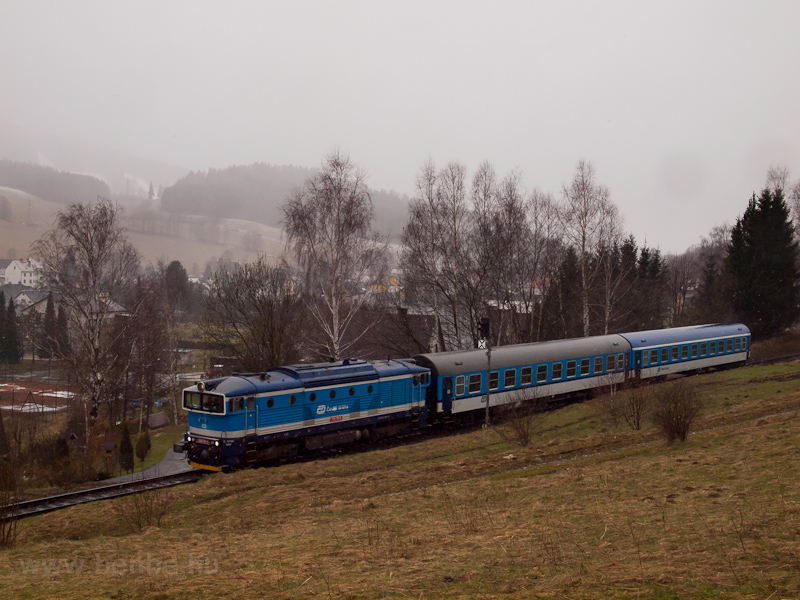 The ČD 750 715-5 seen  picture