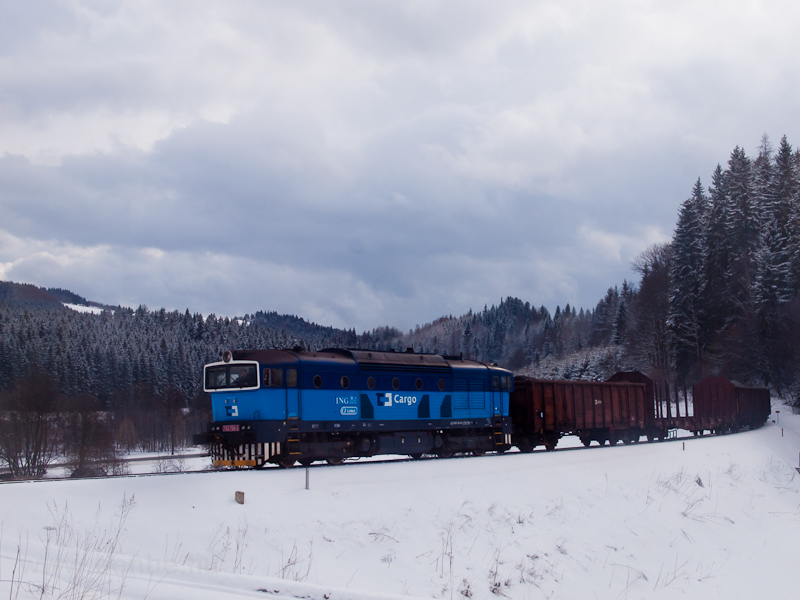 The ČD Cargo 753 766-5 photo