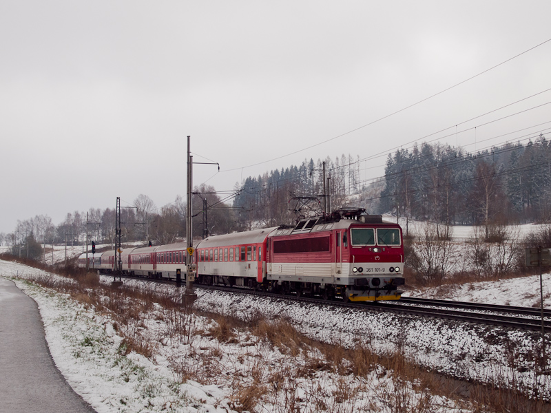 The ŽSSK 361 101-9 see photo