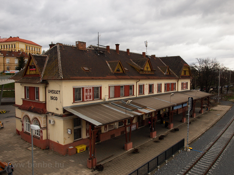 The station building at Uhe photo