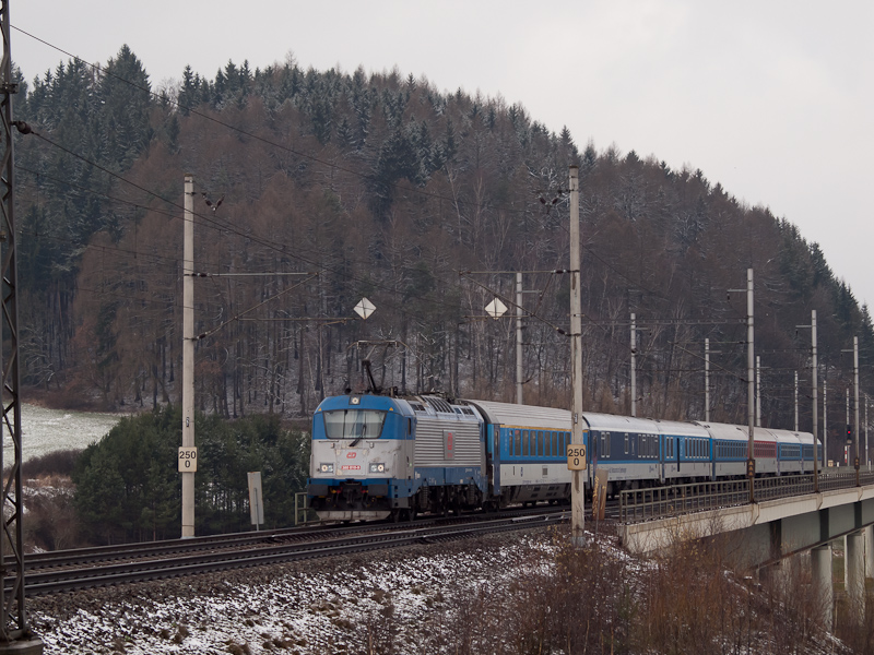 The ČD 380 010-9 seen  photo