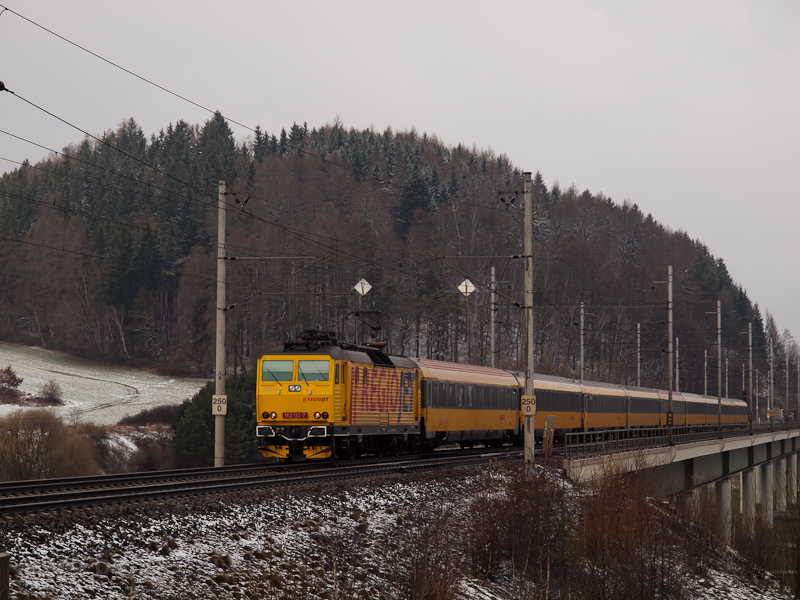 The RegioJet 162 112-7 seen photo