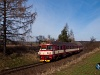 The ČD 80-29 203-4 seen between Rapotice and Kralice nad Oslou