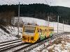 The ČD 914 077-3 seen between Strelenka and Lysa pod Makytou