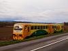 The &#268;D 814 133-5 <q>Regionova</q> seen between Újezdec u Luha&#269;ovic and Polichno