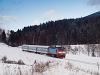 The ČD 749 265-5 seen between Ostružná and Branná