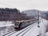 The Leo Express 480 001-7 long-distance FLIRT-160 seen between Hoštejn and Tatenice