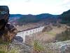 Tehervonat a Dolní Loučky viadukton