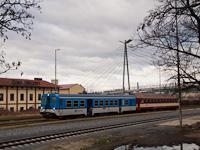 The ČD 842 002-8 seen at Uhersky Brod