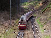 A ČD 854 223-5  Milenka  Střelice állomáson