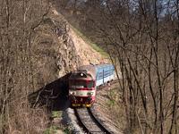 The ČD 80-29 308-1 seen between Ivančice letovisko and Ivančice město