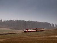 A ČD 810 524-9 Čermná v Sležsku és Svatoňovice között