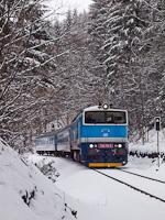 A ČD 750 715-5 Branná és Nové Losiny között