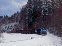 A ČD Cargo 753 766-5 Branná és Ostružná között