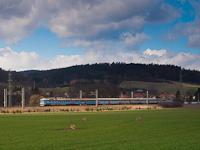 A ČD 560 002-8 Dolní Lhota és Blansko mesto között
