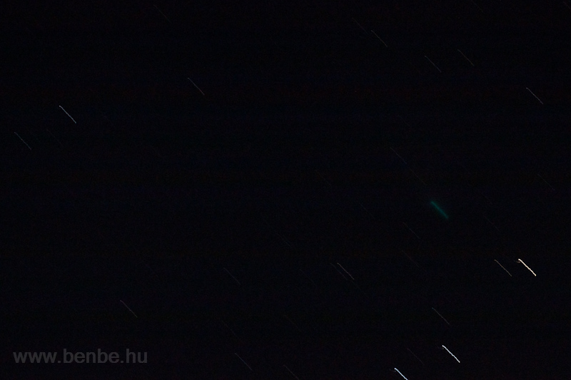 My best photo of the comet  picture