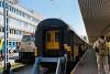 Az első Budapest - Bécs - Prága (Budapest-Déli - Wien Hauptbahnhof - Praha hlavní nádraží), magánvasúti üzemeltetésű, személyszállító RegioJet vonat a Déli pályaudvaron