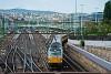 Az első Budapest - Bécs - Prága (Budapest-Déli - Wien Hauptbahnhof - Praha hlavní nádraží), magánvasúti üzemeltetésű, személyszállító RegioJet vonat a Déli pályaudvaron, a vonómozdony a 193 226 pályaszámú Vectron, amit 2016 óta bérel a RegioJet az ELL - European Locomotive Leasing vontatójármű-szolgáltatótól