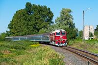 A MÁV-START M62 001 Tapolca és Nemesgulács-Kisapáti között