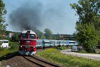 A MÁV-START M62 001 Szepezdfürdő és Révfülöp között