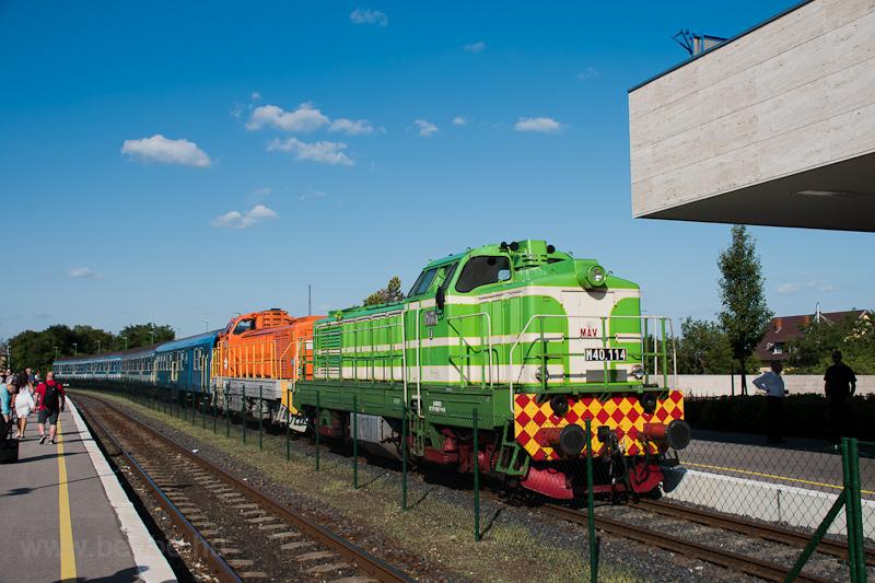 A MÁV M40 114 és M40 209 Balatonfüred állomáson fotó