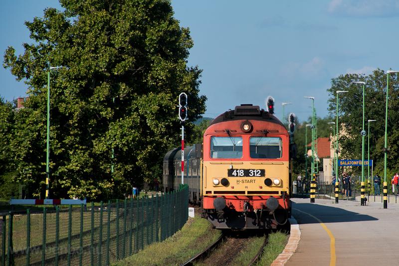 A MÁV-START 418 312 Balaton fotó