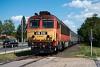 A MÁV-START 418 332 Csittényhegy és Balatonkenese között