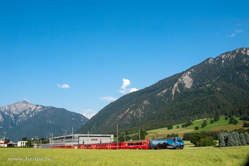 A Ge 4/4 III  647 Felsberg és Domat/Ems között fotó