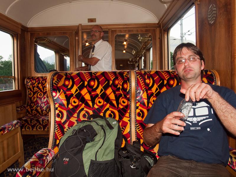 Az Alpine Classic Pullman Express As 1161-es szalonkocsijának beltere fotó