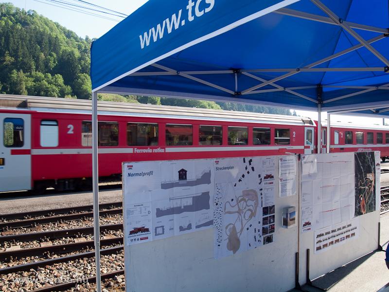 A Lenzerheidéba tervezett kerti vasút tervei fotó