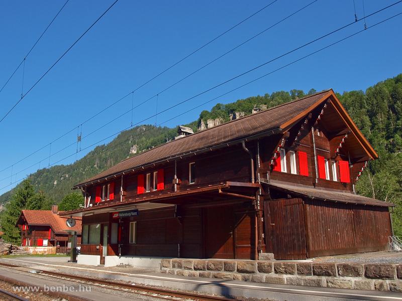 Waltensburg (romansul Vuorz) állomás fotó