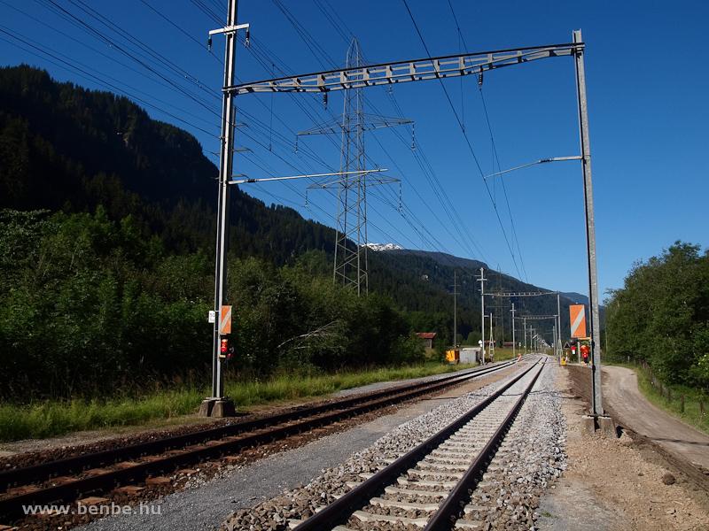 Meghosszabbították a megelőzővágányt Waltensburgban fotó