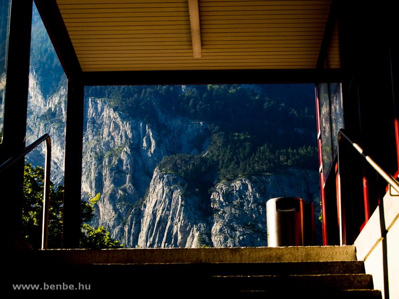 A kilátás Felsberg aluljárójából fotó