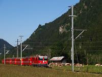 Az RhB Ge 4/4 II  625  Küblis  Tavanasa-Breil/Brigels és Waltensburg/Vuorz között