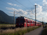 The Be 4/4 512 between Domat/Ems and Felsberg