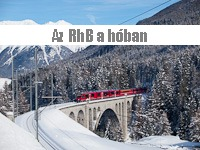The RhB under the snow