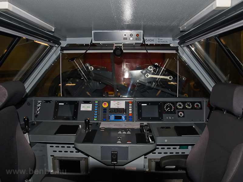 The cab of the rotary snow- photo